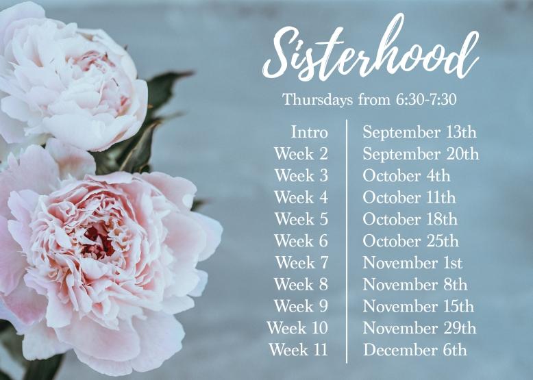 sisterhood calendar